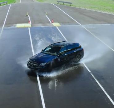 Mercedes Safety Experience na torze w Bednarach – gwiazdy tańczą na torze